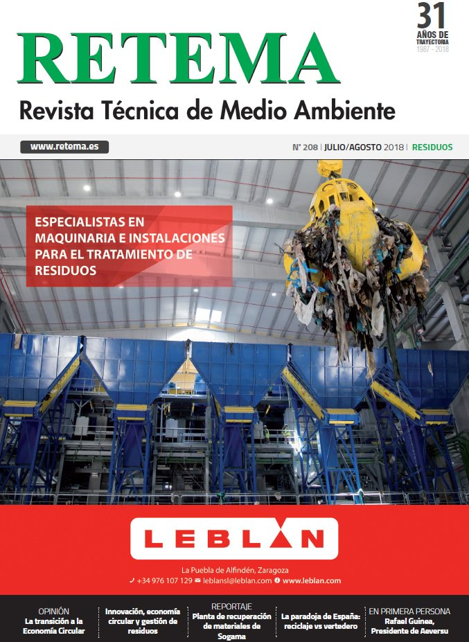 .   @RevistaRETEMA, national reference on #industry & #environment has just launch  last newsletter, where you can find and interesting article about our project activities related to #circulareconomy and #industrialsymbiosis! Read it! https://t.co/839JMLenTT