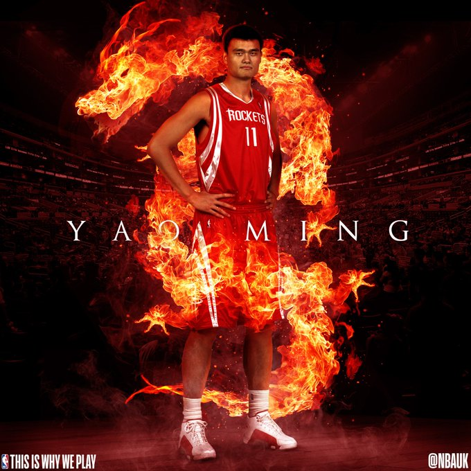Happy birthday to a legend of the game.   Yao Ming