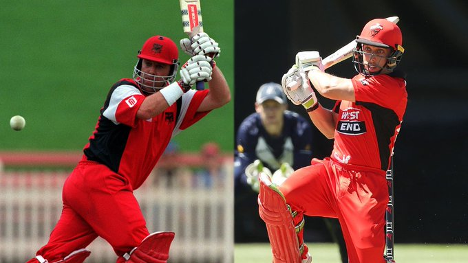 Like father, like son 🕷 🕷 Another Lehmann ready to lead SA #JLTCup Photo