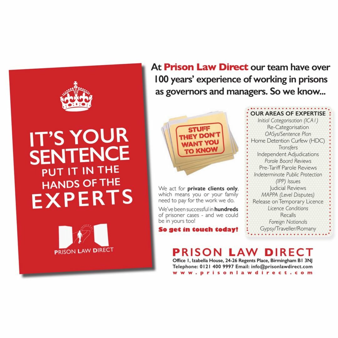 Prison Law Advice (@prisonlawdirect) | Twitter