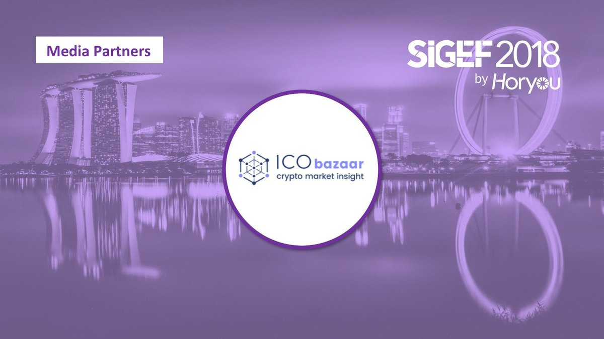 Join #SIGEF2018 and meet our Media Partners, who share our vision and support social inclusion! #socimp #innovation #ethics #inclusion #impact #sustainability #blockchain  #crypto #token #SuntecSG #Singaporepic.twitter.com/NQdH9V3OBZ