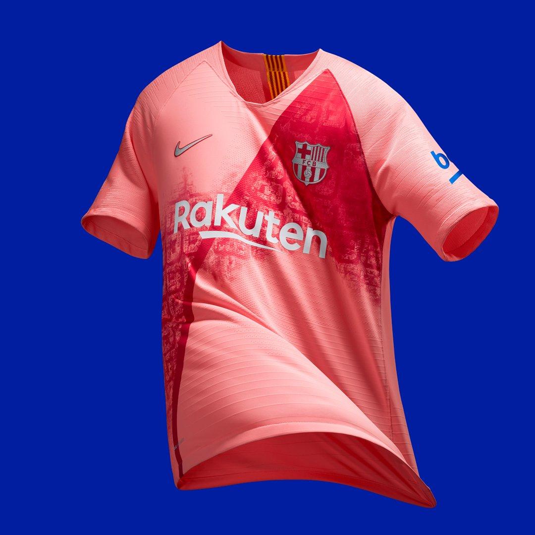 Troisième maillot FC Barcelone