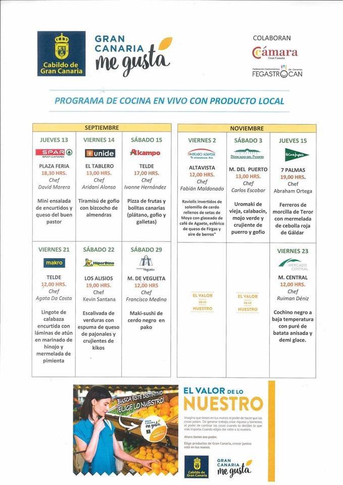 Alcampo Calendario.Minerva On Twitter Calendario Cocina En Vivo Productos