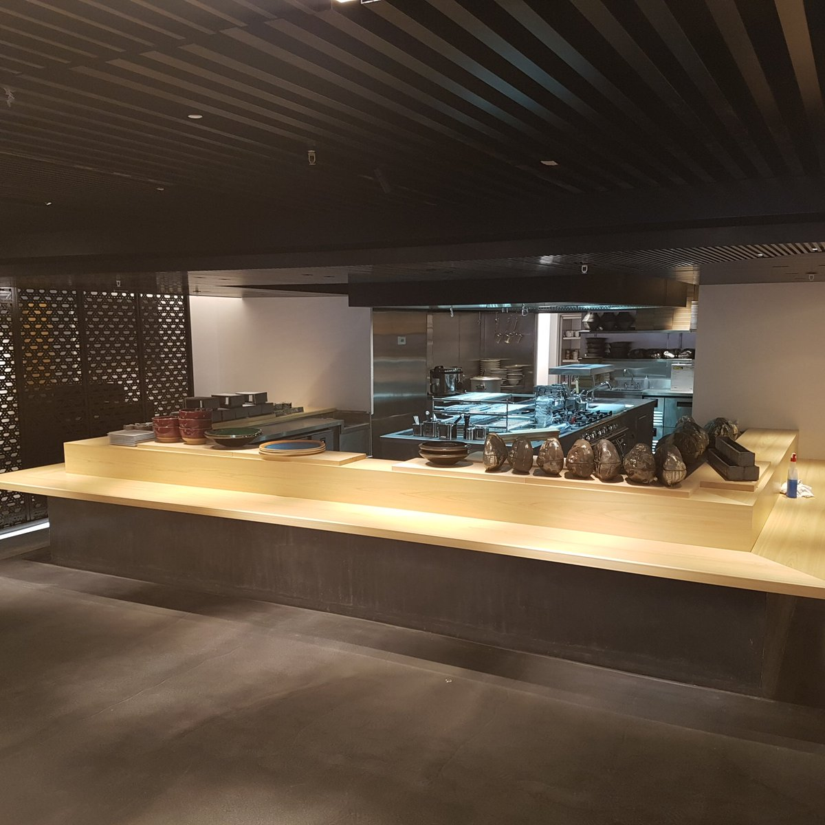 Make your kitchen a centrepiece. #hallmark #kitchendesign #commercialkitchen #kitchen