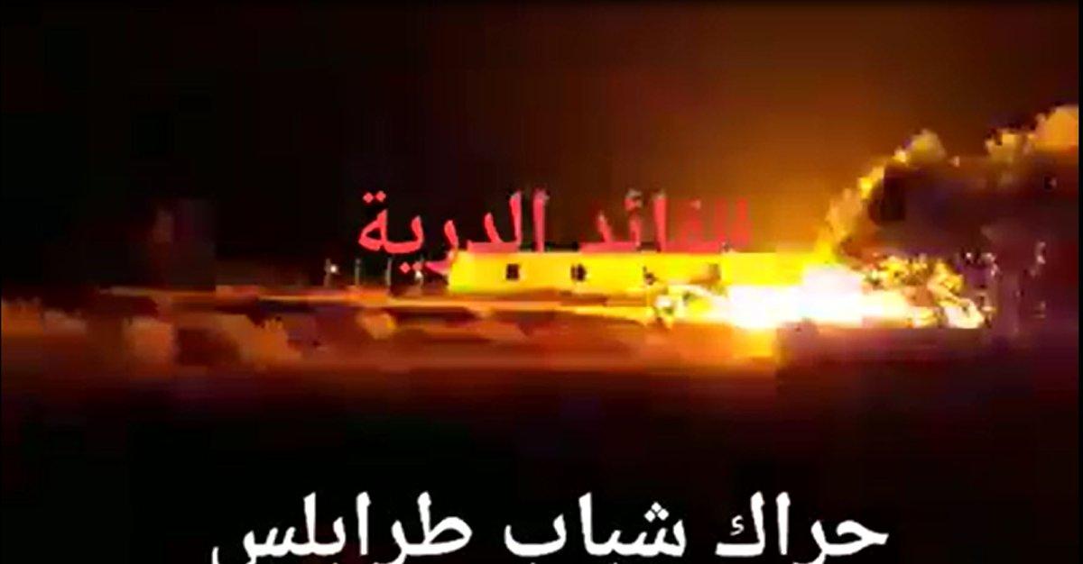 Война в Ливии. Молодежное движение Триполи