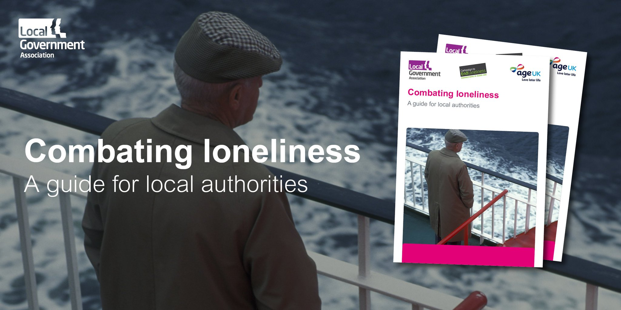"""Lga wellbeing on twitter: """"combating loneliness: a guide for local."""