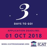 Three days to go until the deadline for Wellcome-HRB ICAT Fellowship applications! Submit your application now at https://t.co/lOIPZ2cuRM and make sure your referees are aware of the deadline!
