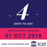Four days to go until the deadline for Wellcome-HRB ICAT Fellowship applications! Submit your application now at https://t.co/lOIPZ1UTtc and make sure your referees are aware of the deadline!