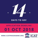 Two weeks to go until the deadline for Wellcome-HRB ICAT Fellowship applications! Submit your application now at https://t.co/lOIPZ2cuRM and make sure your referees are aware of the deadline! Please contact us with any Qs, we love to hear from applicants