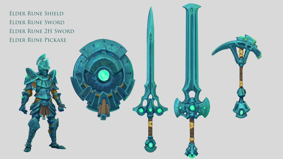 Runescape On Twitter Elder Rune Set A Beauty To Look For In The