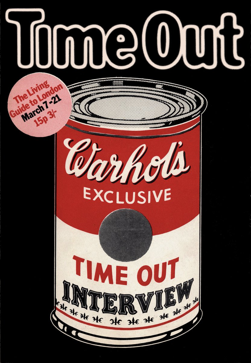 Opening today: Time Out 50! Head to @MuseumofBrands to explore 50 iconic covers from the magazines 50 years 👉 goo.gl/wCLrSM