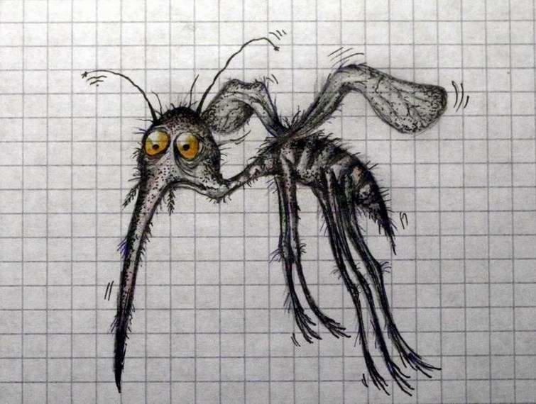 Комары прикол картинки