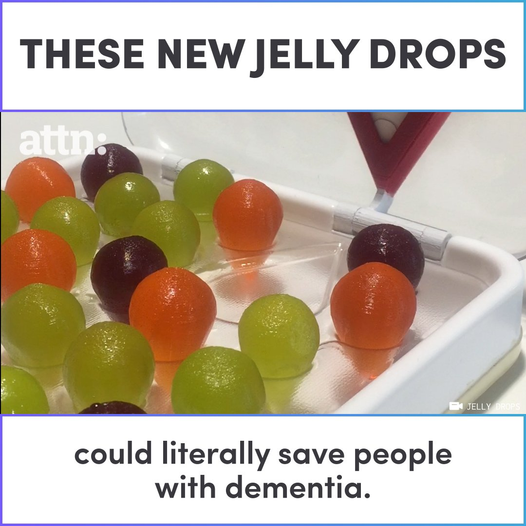 These new jelly drops could save people with dementia.