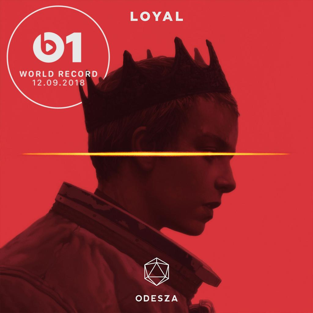 New music from @odesza! #LOYAL is the #WorldRecord. Hear it now with @zanelowe. ▶️ apple.co/OdeszaBeats1