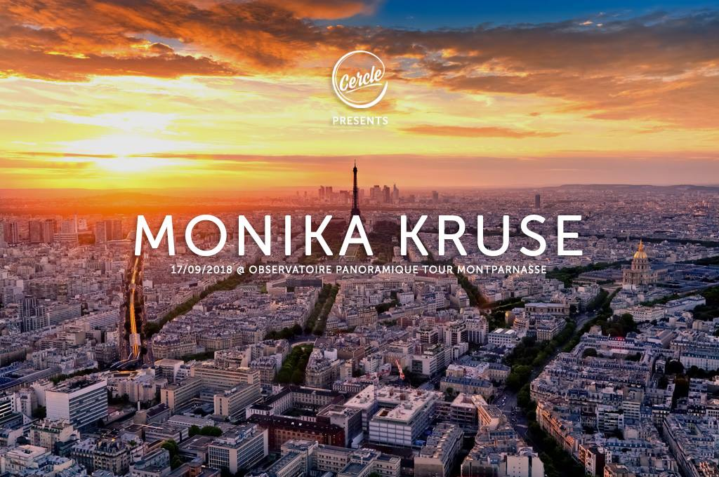 Monika Kruse Live from Montparnasse Tower in Paris