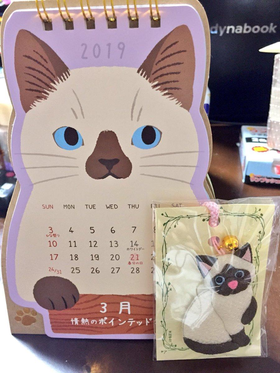 test ツイッターメディア - 【#保護猫カフェマンチカン #京橋店 のファンの皆さまに朗報です】  #100均 の #セリア にありました! 2019年カレンダーです。  「あ!リップ!」 「マヤちゃん?」 「真音!!」 と似てる猫ちゃん勢揃いのカレンダーです?? 即買いしてしまった…  #セリアの回し者ではありません https://t.co/x8lkr9SBR6