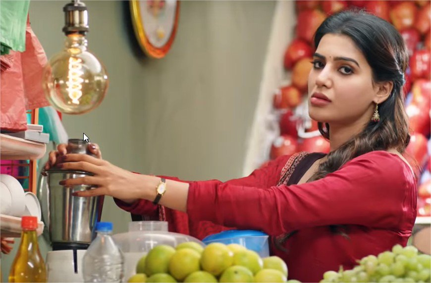 Samantha Navel In Seema Raja Hd: Seemaraja Sivakarthikeyan Soori Six Pack Samantha Release