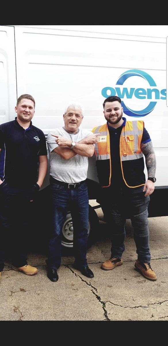 Owens we're proud to deliver to a football legend this morning #Keegan #legend ⚽️ @owensgroupuk