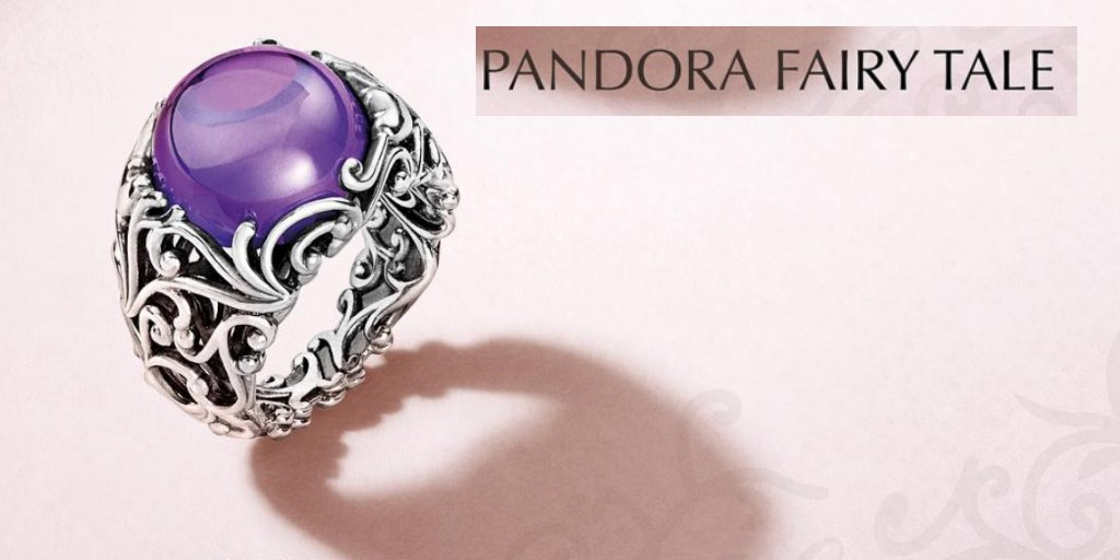 4e5f35a59 Create majestic ring stacks with PANDORA'S sterling silver cocktail ring,  embellished with swirling scrolls and an alluring cabochon-cut purple stone.