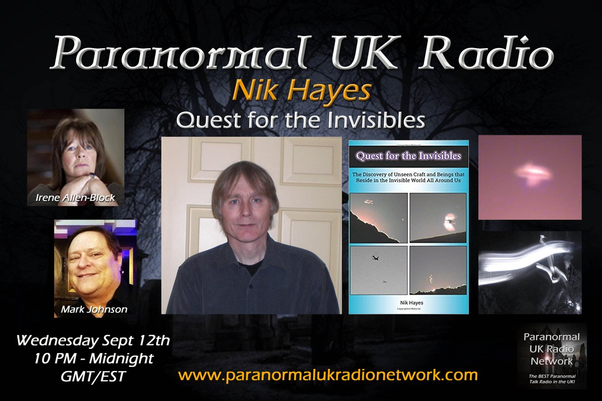 Paranormal UK Radio Network on Twitter: