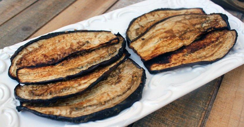 Eggplant Bacon Recipe - Center for Nutrition Studies https://t.co/HSxVFuA1Xm https://t.co/hDAM8fn6uG