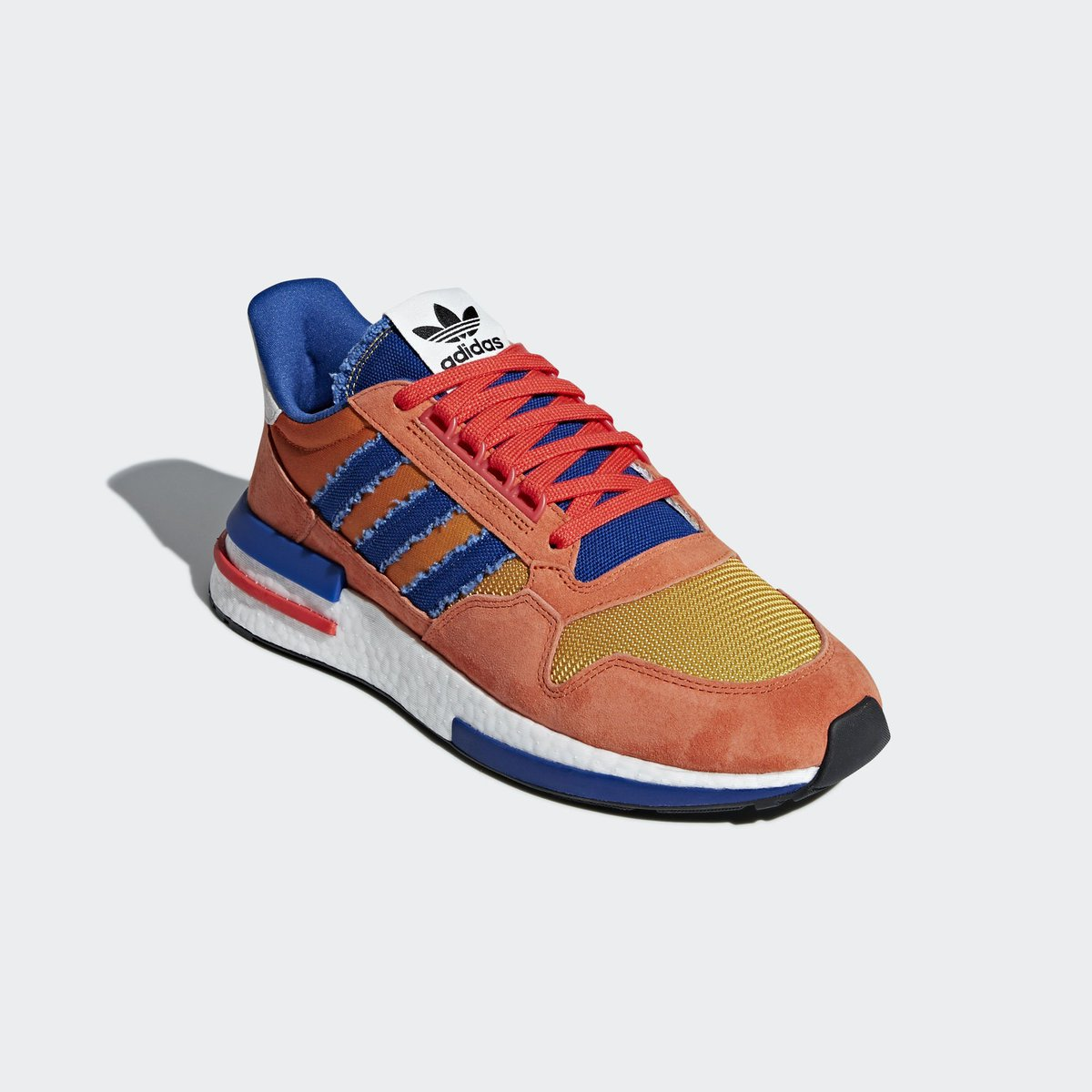 f2bee9a27b5e5e Coming soon on  adidas US. Dragon Ball Z x adidas ZX 500 RM. Releasing  Saturday