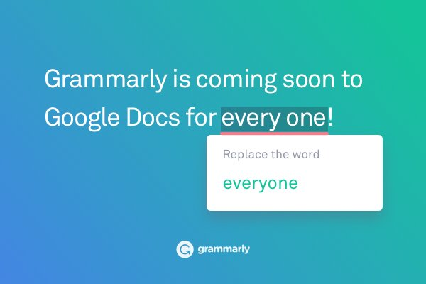 Grammarly For Google Docs Things To Know Before You Get This
