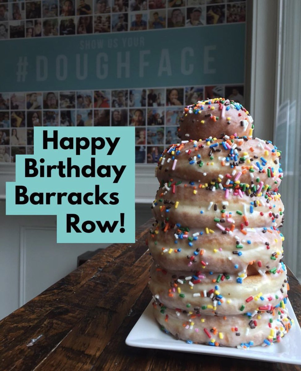Capitol Hill Bid On Twitter Happy Birthday Barracks Row