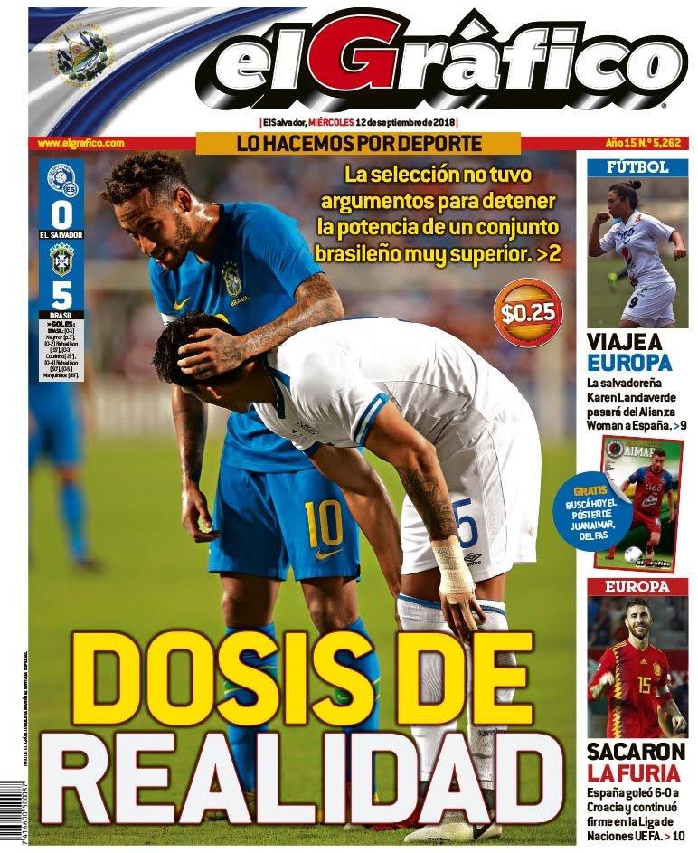 11-9-2018 - Amistoso El Salvador 0 Brasil 5. Dm5Ye1KUYAA525v