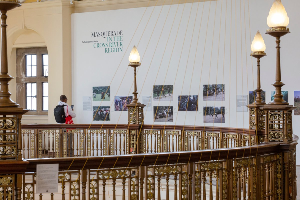 ... By Jill Salmons, Art Historian And Researcher. The Exhibition Features  Photographs Taken During Fieldwork In The 1970s Bringing To Life  Masquerade, ...
