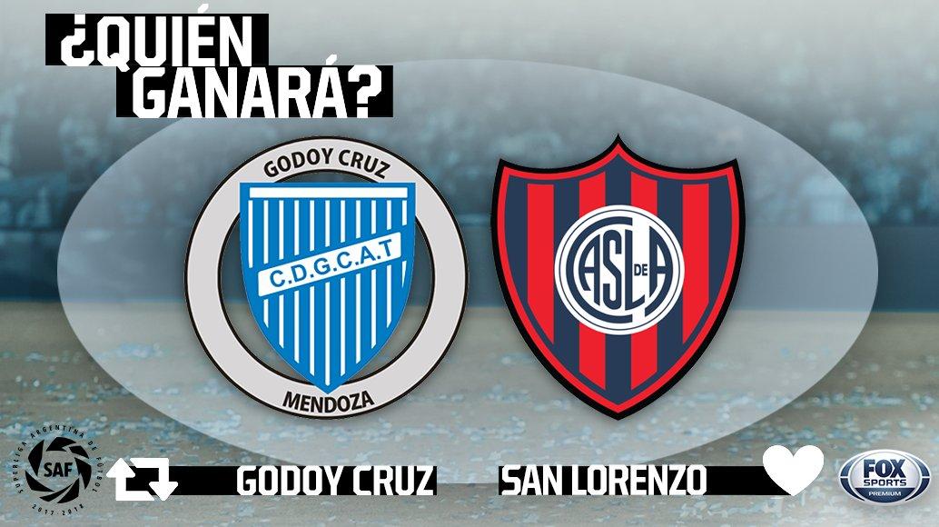 ¿EL TOMBA O EL CICLÓN?  #SuperligaxFOX – Godoy Cruz goleó a San Lorenzo en el torneo pasado, pero el equipo del Pampa va por la venganza ¿Quién ganará este partidazo?