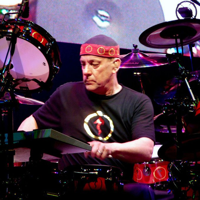 Happy birthday to drummer Neil Peart   Pic: Weatherman90 under license