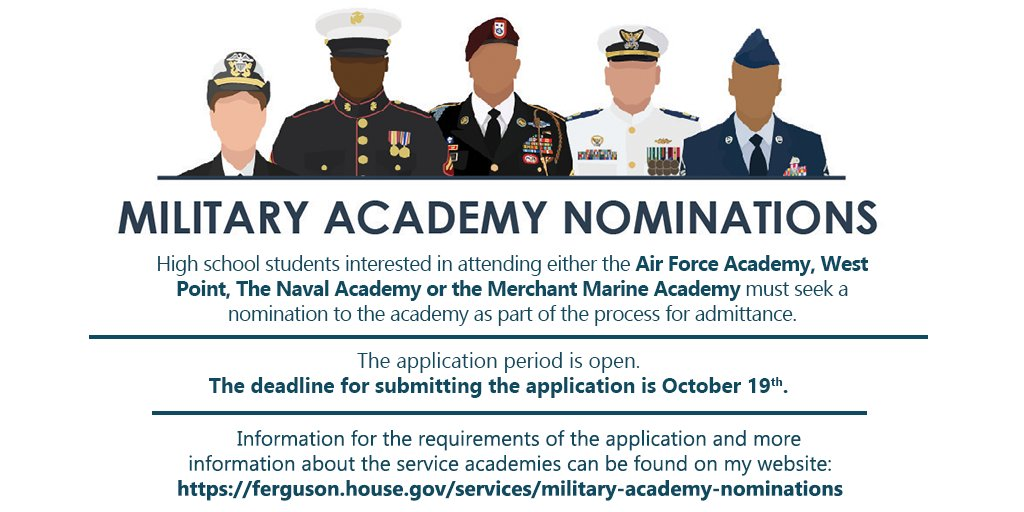 West Point Application Deadline >> Drew Ferguson On Twitter The Deadline For Military Academy