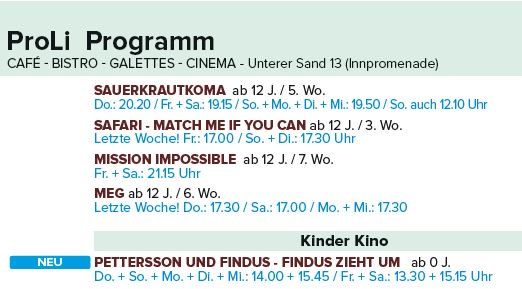 AIBE Twitter: Cineplex Passau (@CineplexPassau)