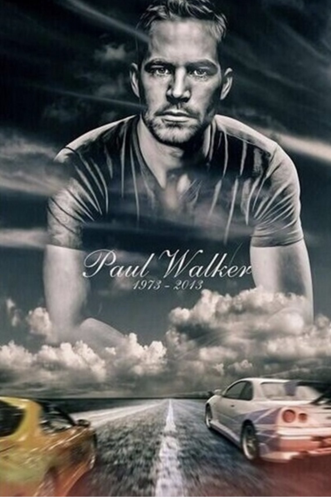 Not TJ related, but a respected birthday post to the legend. Happy birthday Paul Walker.