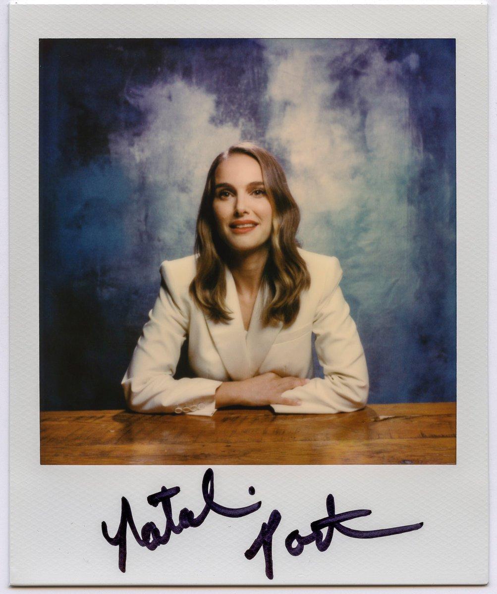 Natalie Portman's polaroid for the LA Times (2018)