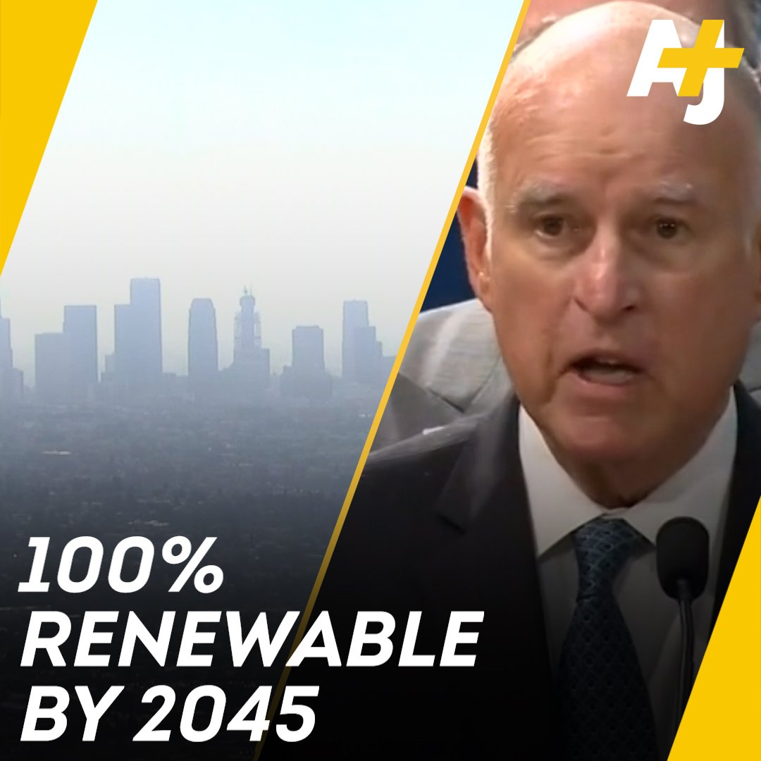 California is saying bye-bye to fossil fuels. It wants to have 100% clean energy by 2045.