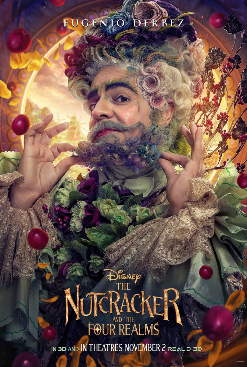 The Characters Of The Cups: Disney's THE NUTCRACKER AND THE FOUR REALMS Character