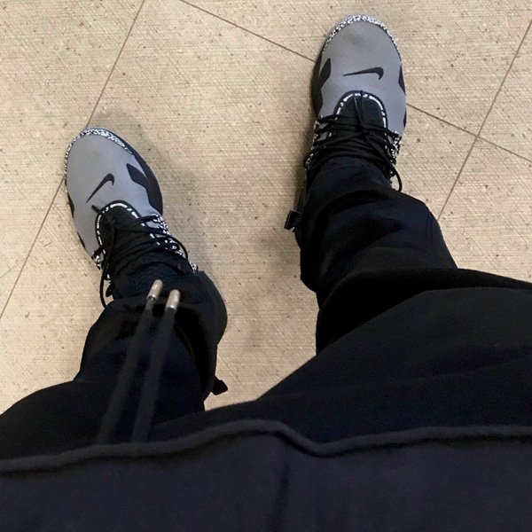 Nike x Acronym Air Presto Mid Cool Grey Black | Footshop