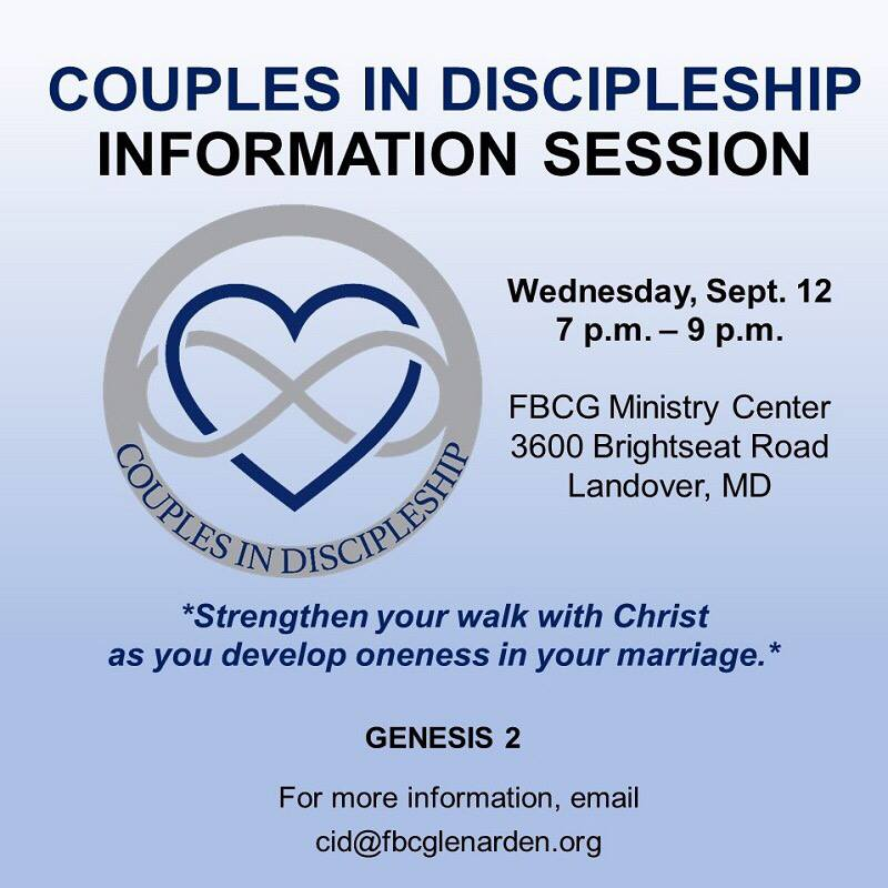 Fbc Glenarden Fbcg On Twitter Married Couples Are Invited To The