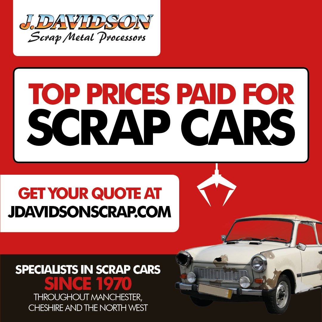 Scrap Metal Prices Cars >> J Davidson On Twitter Top Prices Paid For Scrap Cars At J