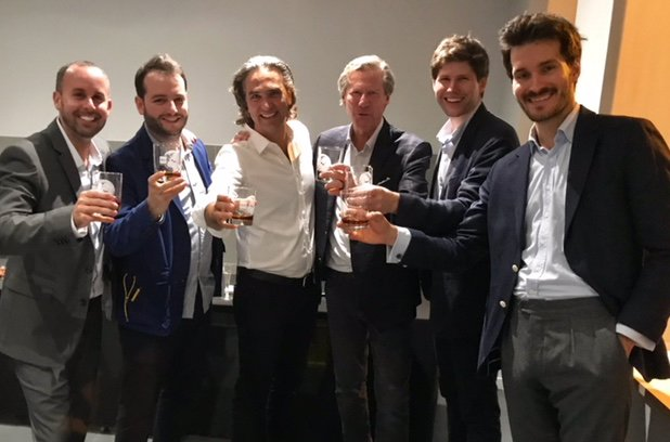 .@ddg_usa opened a new office in #Paris yesterday + kicked it off with a #soirée. Great discussions on #design, real estate and lifestyle #trends! complimented w/French wines, #Champagne, and of course, some Maryland Rye+Kentucky Bourbon! #BorderLab #AustinTyler #ChiaraGranito