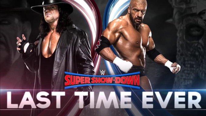Sinon le WWE Super Show-Down à 11h du matin heure française, c'est parfait. Je ferai livrer une pizza pour midi. 😌👍🏻 #CatchRAW Photo
