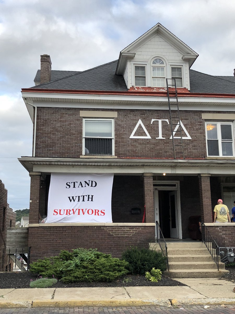 #MyFraternity at Ohio University means supporting survivors.
