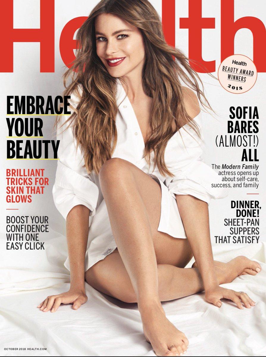 Sofia Vergara  - Here's an ex healthmagazine twitter @SofiaVergara