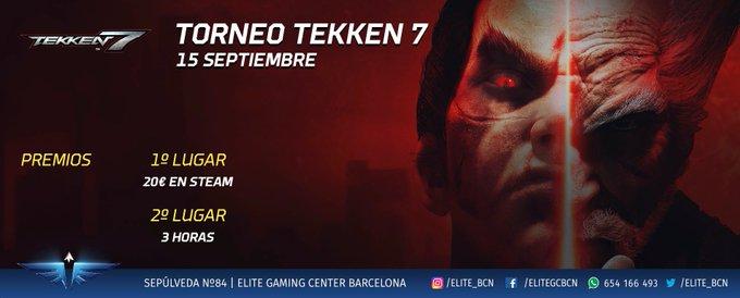 ¡Soldados! ¡El sábado se viene torneo de #Tekken! ¡Fantásticos premios os están esperando! Foto