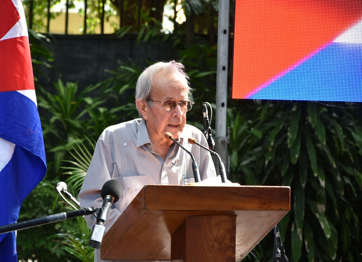 Ricardo Alarcón destacó la lucha por los Cinco