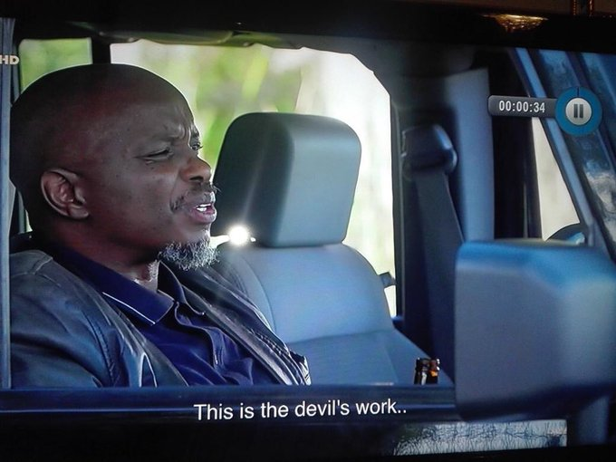 #SkeemSaam Clement must leave with his father and stop his nonsense of protecting the abuser Photo