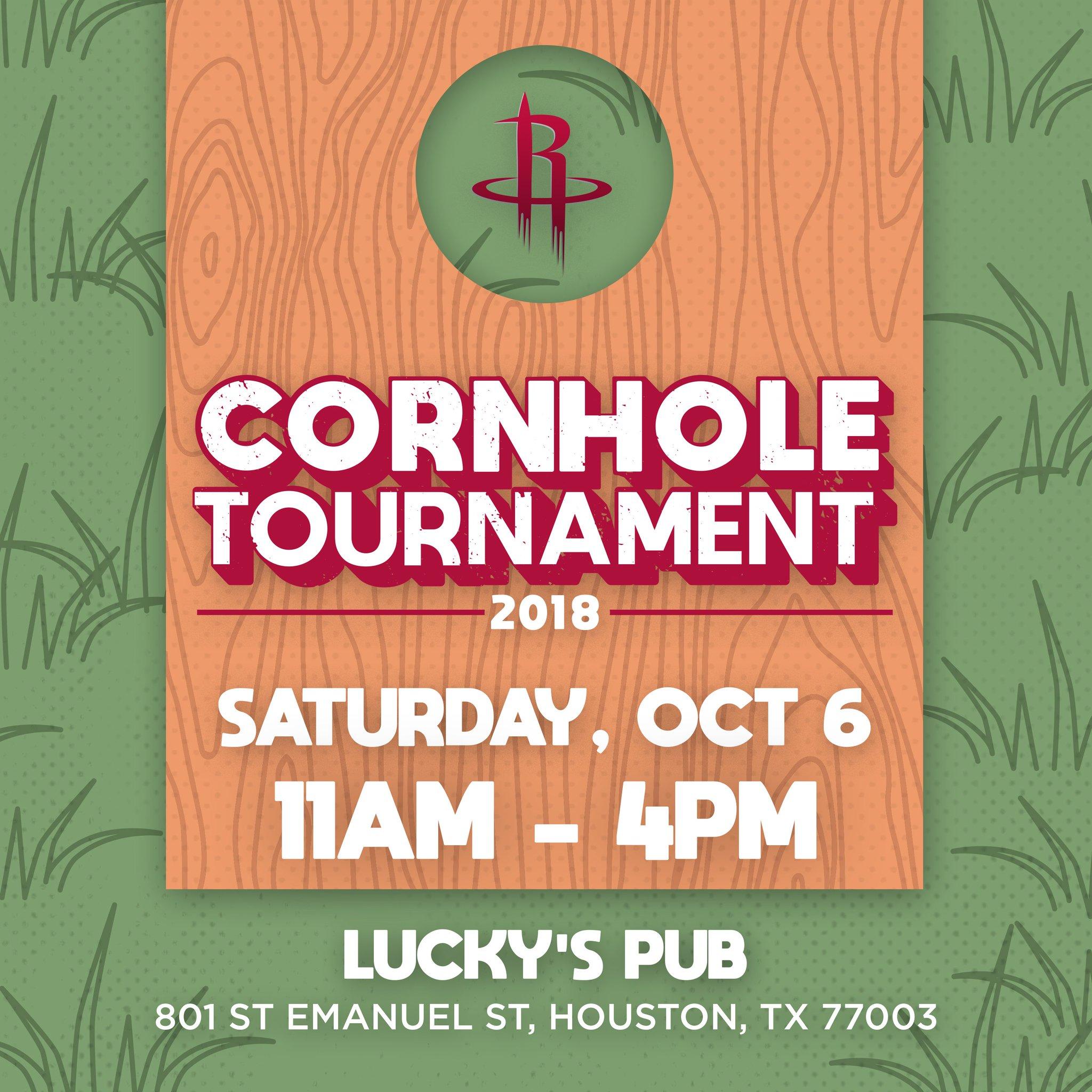 Register for our Cornhole tournament on October 6th!  �� | https://t.co/hw1OrEcxSY https://t.co/kkuXAJ7sPF
