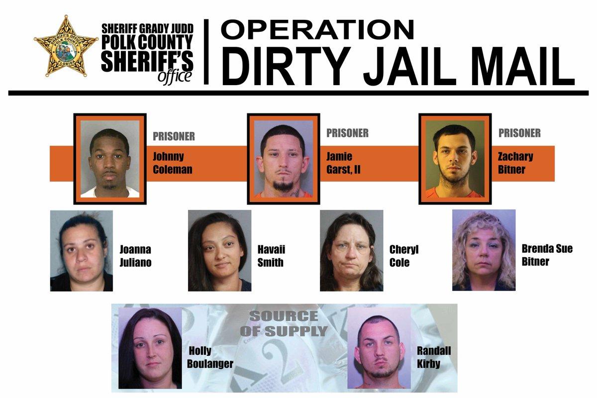 Polk County Sheriff's tweet -